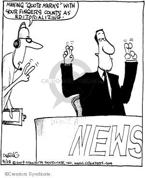 Cartoonist John Deering  Strange Brew 2009-05-28 television cartoon