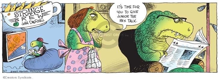Comic Strip John Deering  Strange Brew 2009-06-07 John