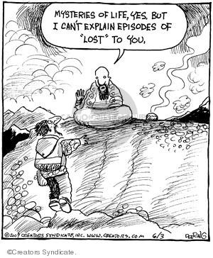 Cartoonist John Deering  Strange Brew 2009-06-03 television cartoon