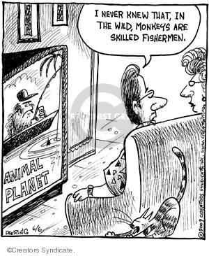 Cartoonist John Deering  Strange Brew 2009-06-06 television cartoon