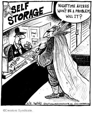 Comic Strip John Deering  Strange Brew 2009-06-18 Bram