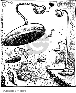 Cartoonist John Deering  Strange Brew 2009-06-11 classics