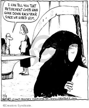 Comic Strip John Deering  Strange Brew 2009-07-04 brew