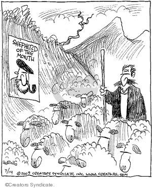 Comic Strip John Deering  Strange Brew 2009-07-14 month