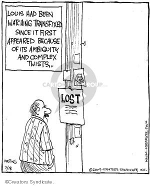 Cartoonist John Deering  Strange Brew 2009-07-18 television cartoon