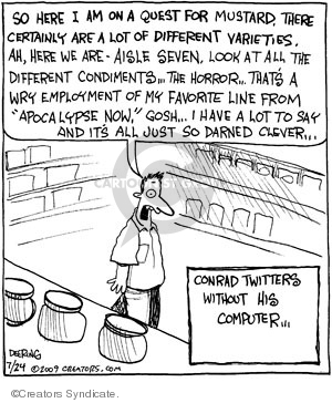Cartoonist John Deering  Strange Brew 2009-07-24 heart