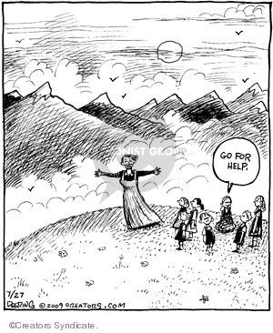 Cartoonist John Deering  Strange Brew 2009-07-27 nanny