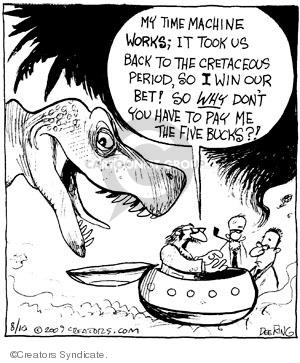Comic Strip John Deering  Strange Brew 2009-08-10 travel