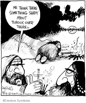 Comic Strip John Deering  Strange Brew 2009-08-15 shady