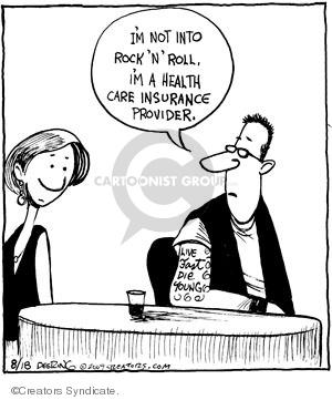 Comic Strip John Deering  Strange Brew 2009-08-18 medical
