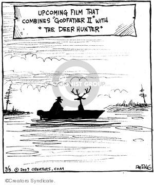 Comic Strip John Deering  Strange Brew 2009-09-05 plot