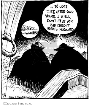 Comic Strip John Deering  Strange Brew 2009-09-09 Bram
