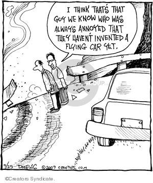 Comic Strip John Deering  Strange Brew 2009-09-25 car design
