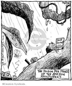 Comic Strip John Deering  Strange Brew 2009-09-29 poison