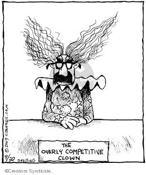 Cartoonist John Deering  Strange Brew 2009-09-30 aggressive