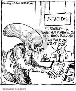 Comic Strip John Deering  Strange Brew 2009-10-03 drug
