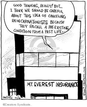 Comic Strip John Deering  Strange Brew 2009-10-16 medical