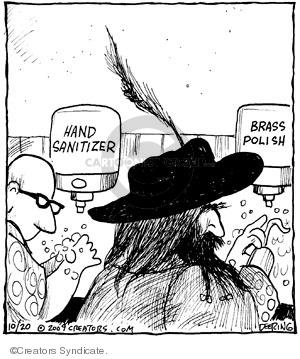 Comic Strip John Deering  Strange Brew 2009-10-20 germ