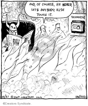 Comic Strip John Deering  Strange Brew 2009-10-21 Lucifer