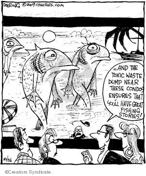 Comic Strip John Deering  Strange Brew 2009-10-26 environment