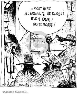 Comic Strip John Deering  Strange Brew 2009-10-29 movie thriller
