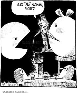Comic Strip John Deering  Strange Brew 2009-11-09 arcade game
