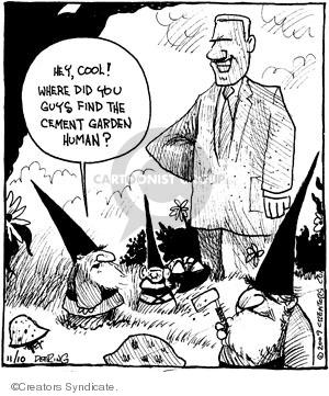 Comic Strip John Deering  Strange Brew 2009-11-10 outdoors