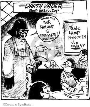 Comic Strip John Deering  Strange Brew 2009-11-11 teacher