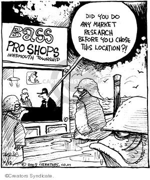 Comic Strip John Deering  Strange Brew 2009-11-12 bookshop
