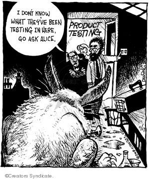 Comic Strip John Deering  Strange Brew 2009-11-17 drug