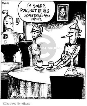 Cartoonist John Deering  Strange Brew 2009-11-24 heart