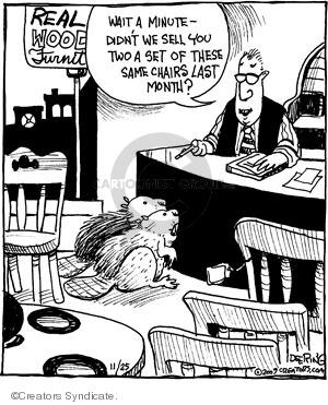 Comic Strip John Deering  Strange Brew 2009-11-25 month