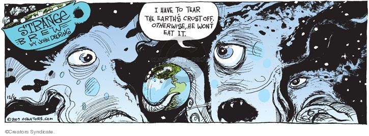 Comic Strip John Deering  Strange Brew 2009-12-06 bread crust