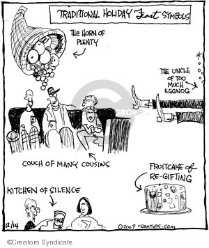 Cartoonist John Deering  Strange Brew 2009-12-14 traditional