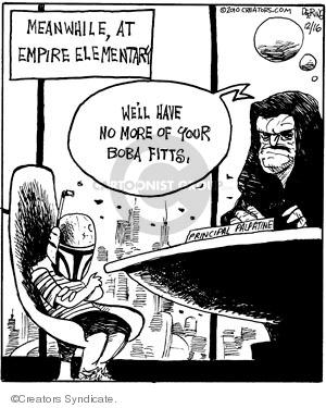 Comic Strip John Deering  Strange Brew 2009-12-16 elementary school