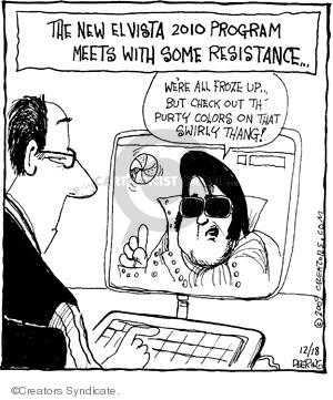 Comic Strip John Deering  Strange Brew 2009-12-18 celebrity