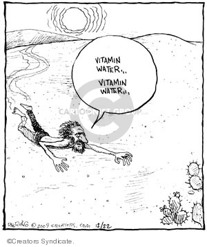Comic Strip John Deering  Strange Brew 2009-12-22 topic