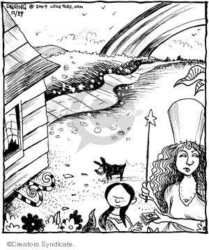 Comic Strip John Deering  Strange Brew 2009-12-29 dropping