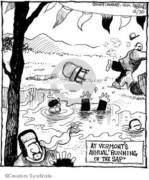Cartoonist John Deering  Strange Brew 2009-12-30 bull