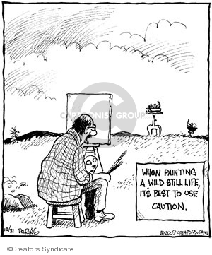Cartoonist John Deering  Strange Brew 2009-12-31 use