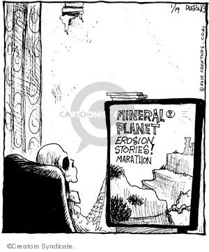 Comic Strip John Deering  Strange Brew 2010-01-14 television viewer