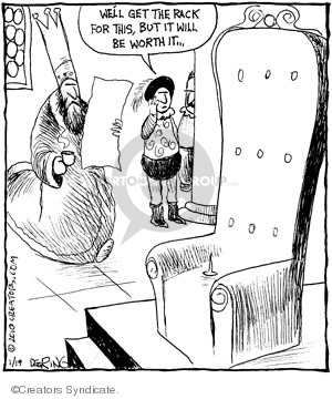 Cartoonist John Deering  Strange Brew 2010-01-19 monarch