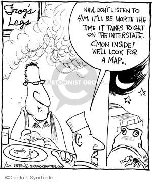 Comic Strip John Deering  Strange Brew 2010-01-20 food safety