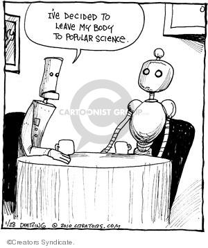 Comic Strip John Deering  Strange Brew 2010-01-28 medical