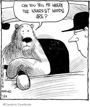 Comic Strip John Deering  Strange Brew 2010-01-29 wildlife