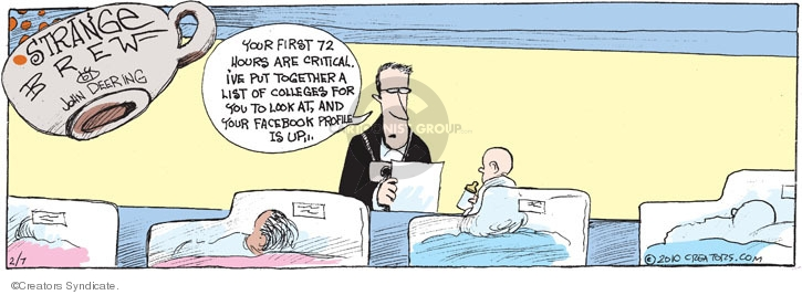 Cartoonist John Deering  Strange Brew 2010-02-07 education