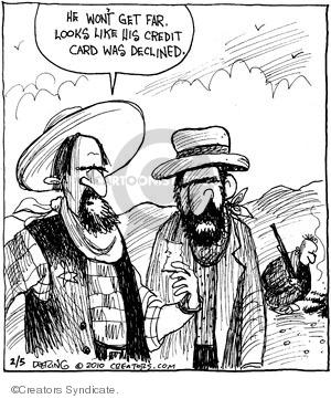 Comic Strip John Deering  Strange Brew 2010-02-05 decline