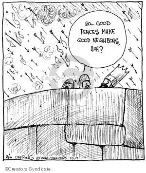 Comic Strip John Deering  Strange Brew 2010-02-06 wall