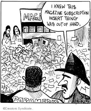 Comic Strip John Deering  Strange Brew 2010-02-13 paramedic