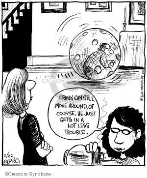 Comic Strip John Deering  Strange Brew 2010-02-22 less